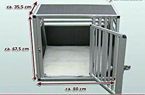Hundebox Autobox für Hunde Alu stabil